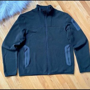 Arcteryx Black Covert Cardigan Fleece Jacket